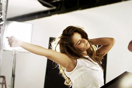 Cheryl Cole goes foundation free for her first skincare campaign for L'Oreal Paris