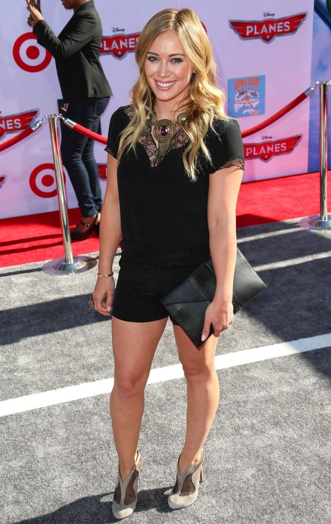 Hilary Duff en combishort Maje