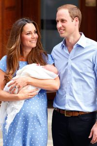 Kate Middleton and Prince William and baby George