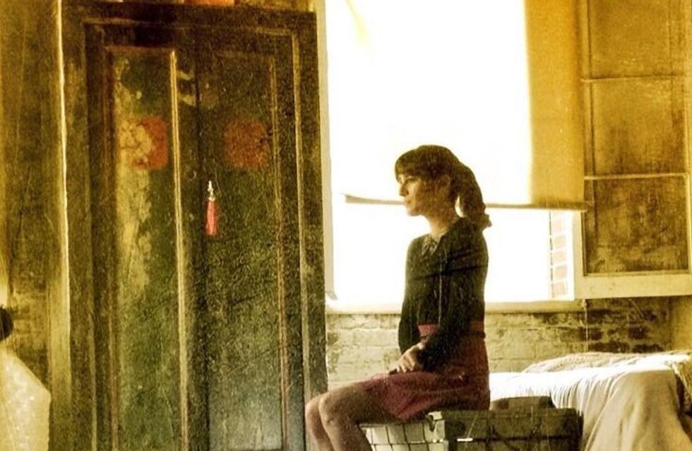 Lea Michele : Triste sur le tournage de Glee (photo)