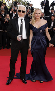 Karl Lagerfeld & Diane Krüger