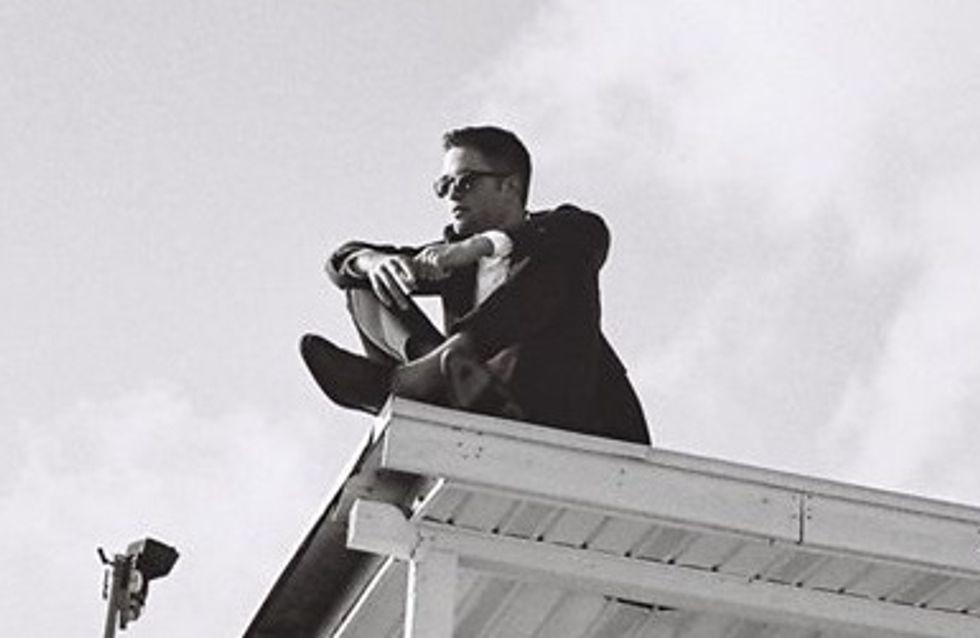 Robert Pattinson : La tête dans les nuages pour Dior (photo)
