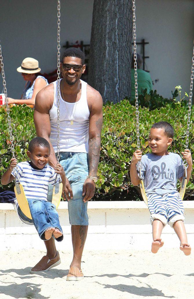 Usher & seine Söhne