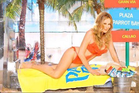 Ana Obregon y su posado veraniego