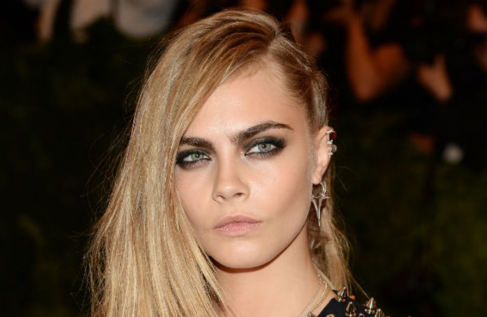 Sexy movie role for Cara Delevingne? Model up for Fifty Shades Of Grey film