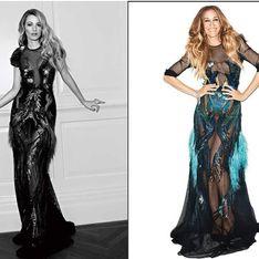 Blake Lively vs Sarah Jessica Parker : Qui porte le mieux la robe transparente Gucci ? (Photos)