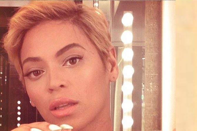 Beyonce hair: Her brand new pixie crop