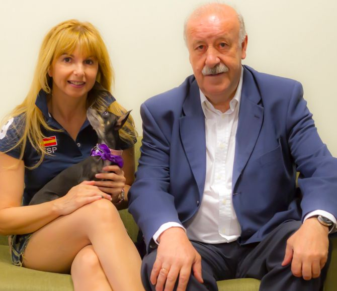 Alejandra Botto y Vicente del Bosque