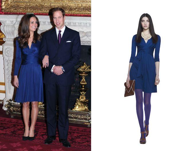 Kate Middleton en robe Issa