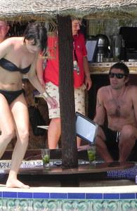 Liam Gallagher & seine 'Assistentin' Debbie Gwyther