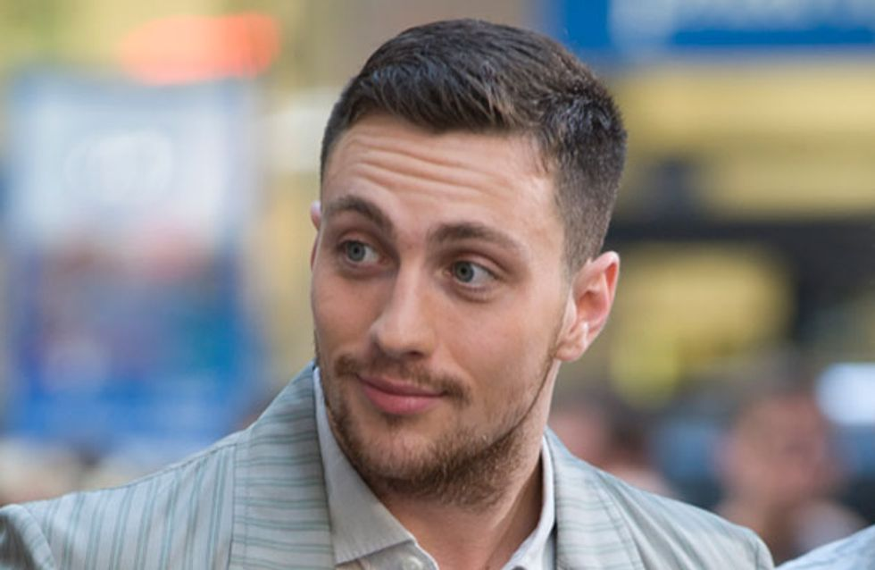 Aaron Taylor-Johnson: I'm not gorgeous or old enough to play Christian Grey