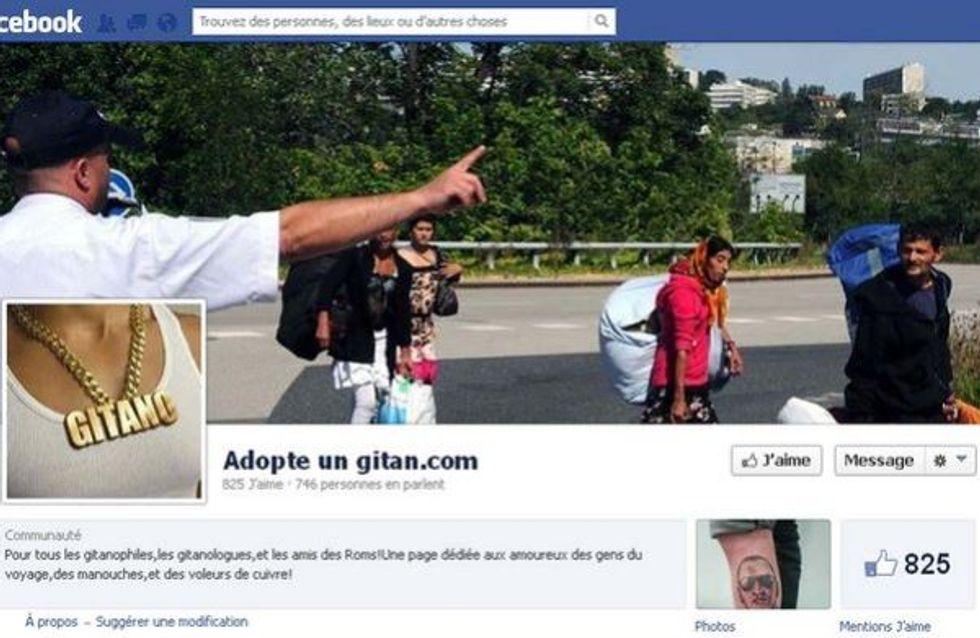 Adopte un gitan : La page Facebook accusée d'incitation à la haine raciale