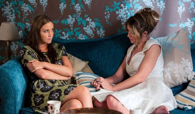 Lauren's feeling guilty over Abi's results