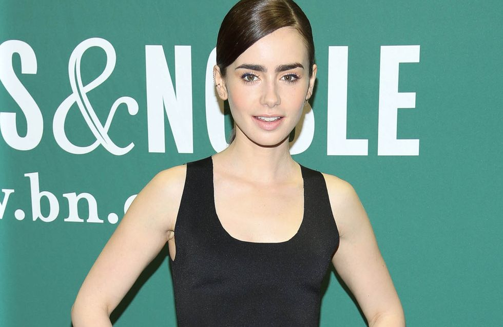 Lily Collins : Un look Matrix désastreux (Photo)