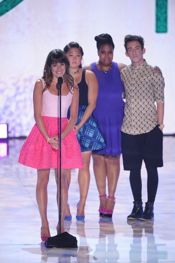 Lea Michele aux Teen Choice Awards