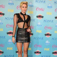 Miley Cyrus : En total look SM aux Teen Choice Awards