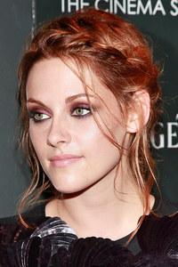 Kristen Stewart's braided updo