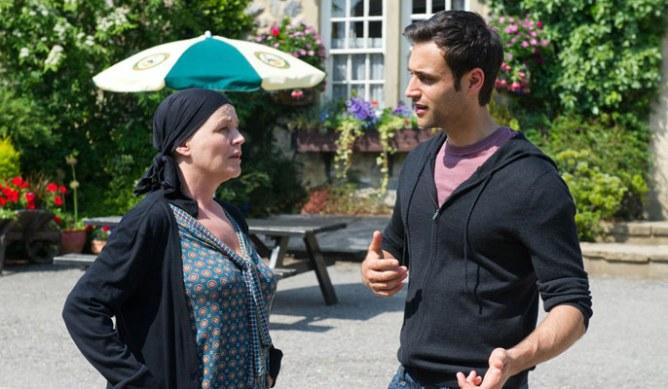 Brenda finds out Nikhil's leaving