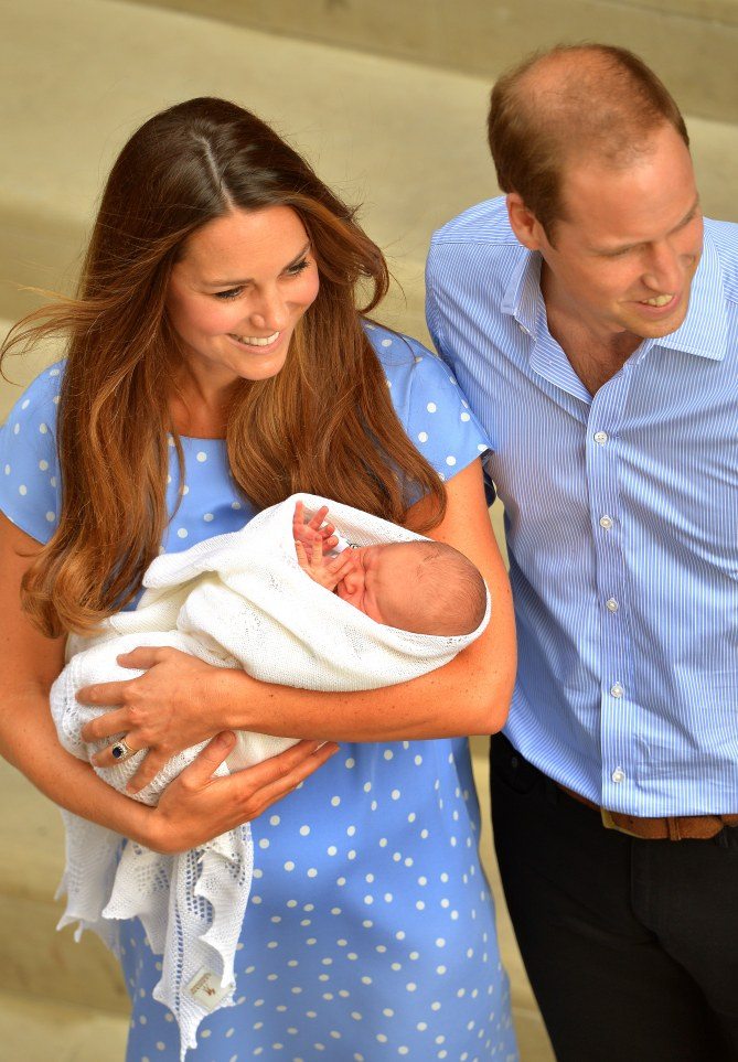 Kate Middleton et son fils