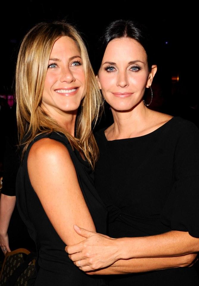 Jennifer Aniston et Courtney Cox
