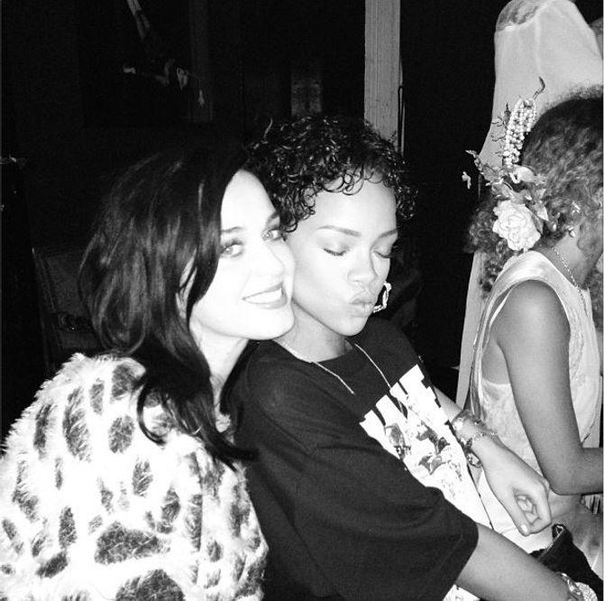 Katy Perry et Rihanna : De nouveau meilleures amies