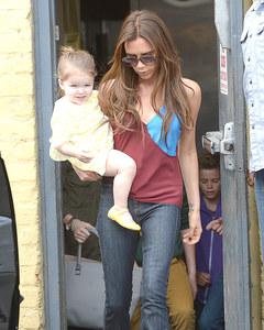 Victoria Beckham e la figlia Harper