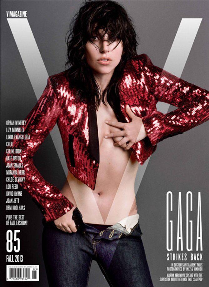 Lady Gaga pour V Magazine