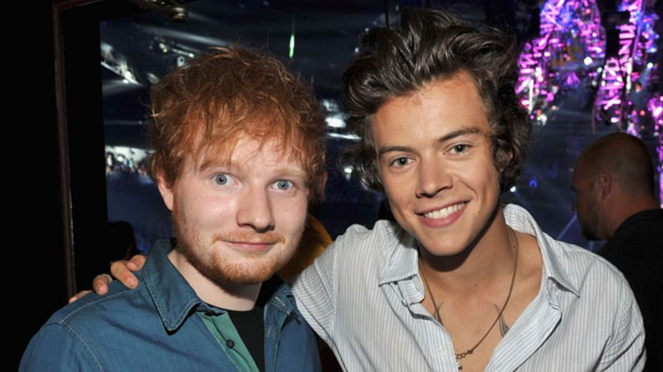 Ed Sheeran helps heal the rift between Harry Styles and Taylor Swift