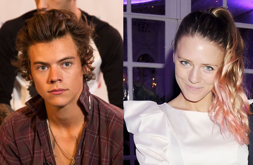 Is Harry Styles dating burlesque model Sophie Moss?