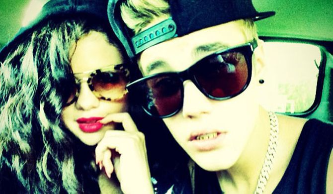 Justin Biber and Selena Gomez