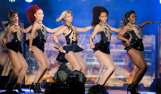 Beyonce Knowles at V