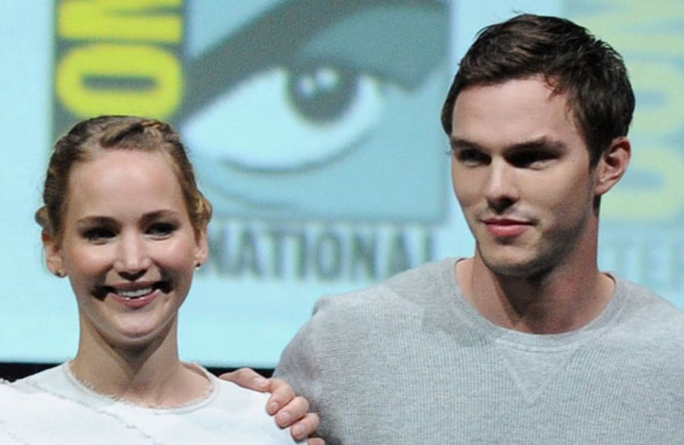X-Men's Jennifer Lawrence and Nicholas Hoult confirm they're back together