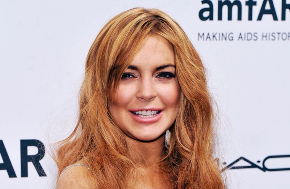 Lindsay Lohan launches her first fashion blog