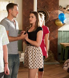 Hollyoaks 26/08 - Sienna humiliates herself