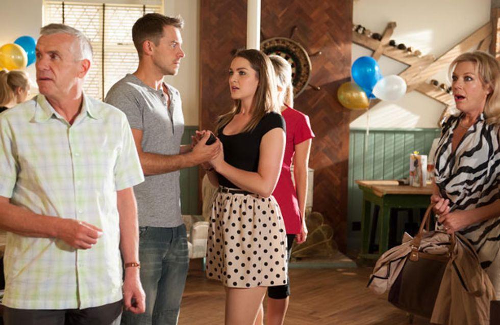 Hollyoaks 26/08 - Sienna humiliates herself