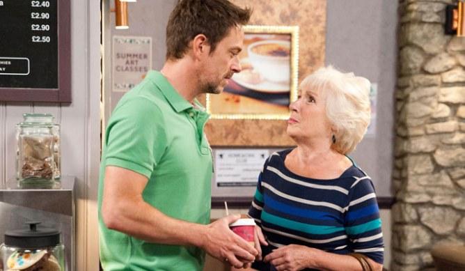 Alex's granny asks Cameron a favour
