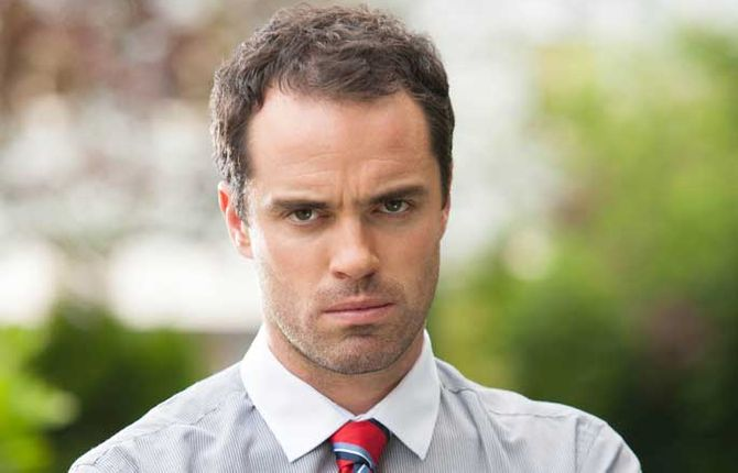 Paul's on his way out of Hollyoaks