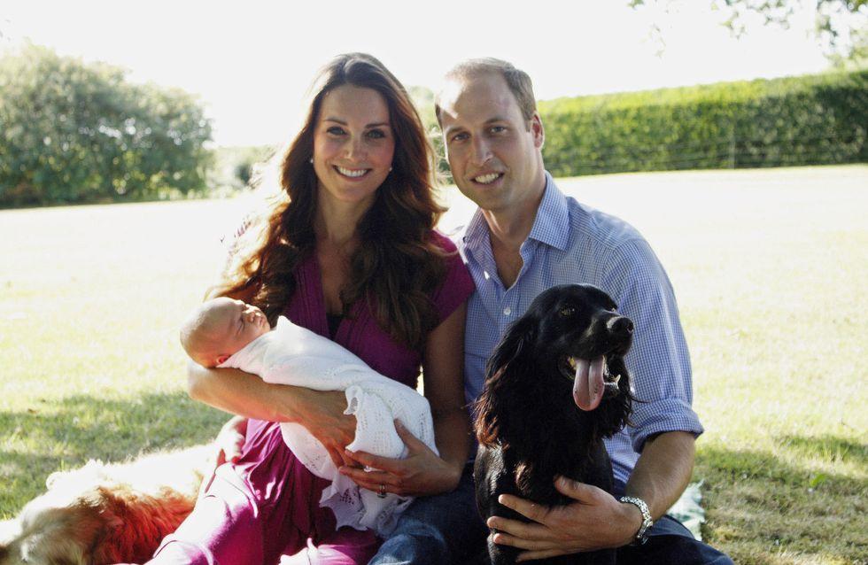 Kate et William : Les premières photos officielles de George avec ses parents !