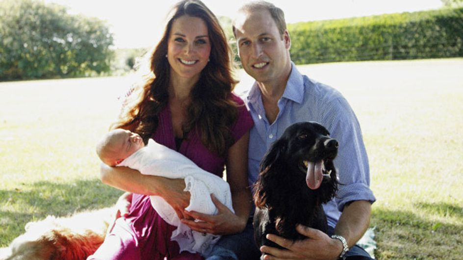 Royal baby pictures: First official photos of Prince George released