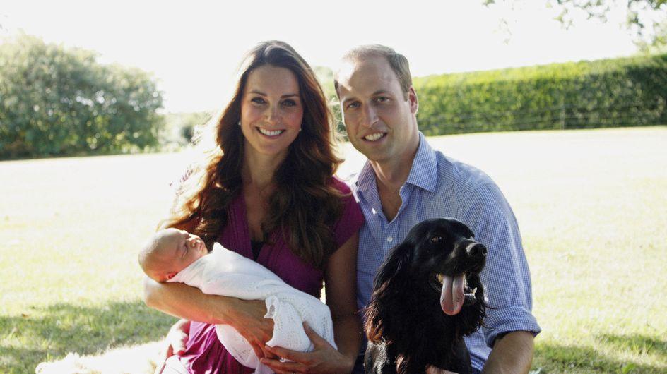 Principino George: le foto ufficiali