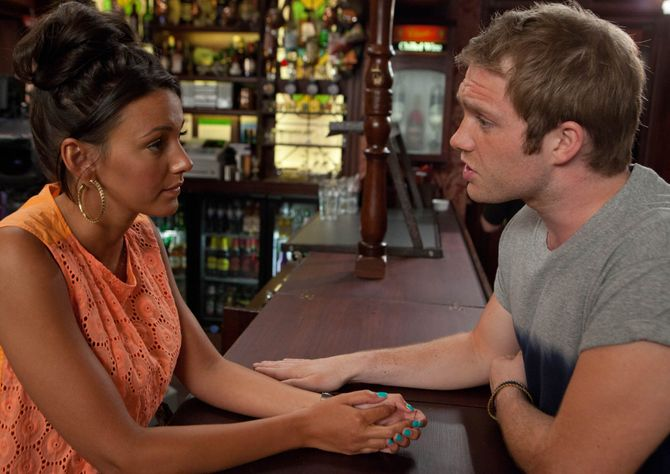 Tina and Tommy in Corrie