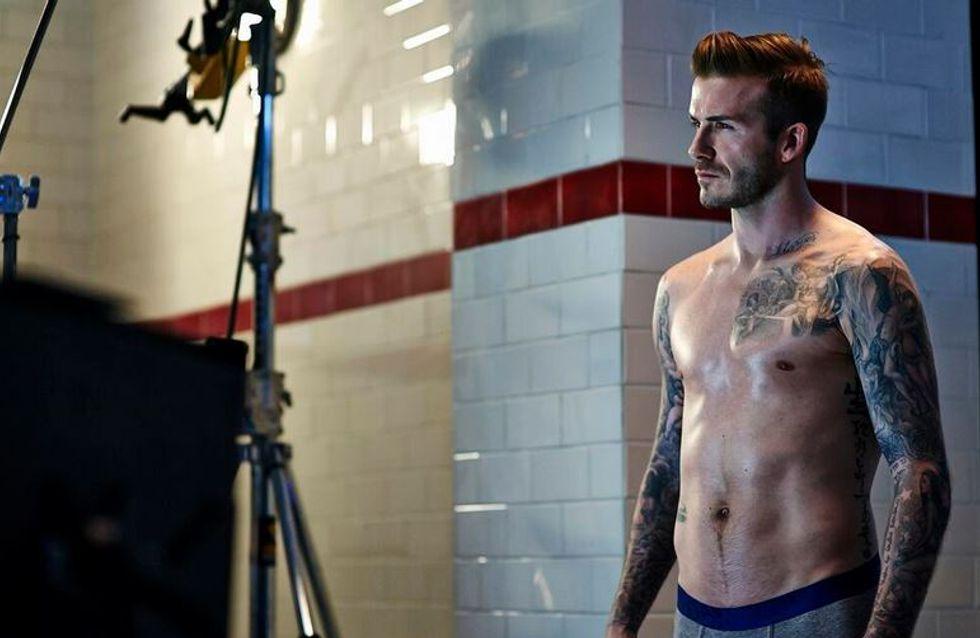 David Beckham remet le couvert avec ses slips pour H&M