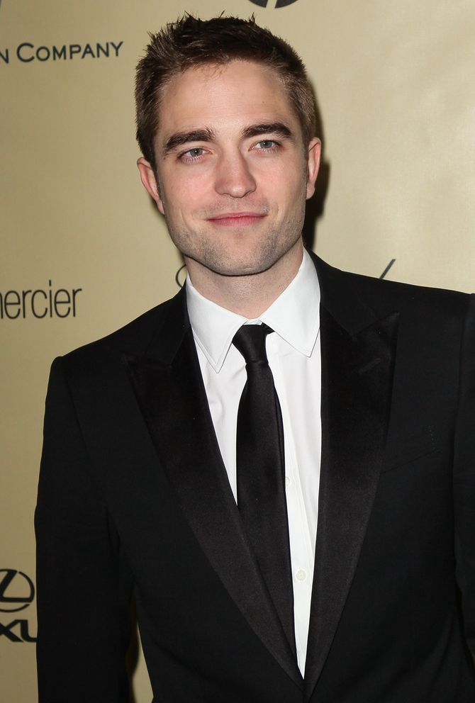 Robert Pattinson bei den Golden Globes