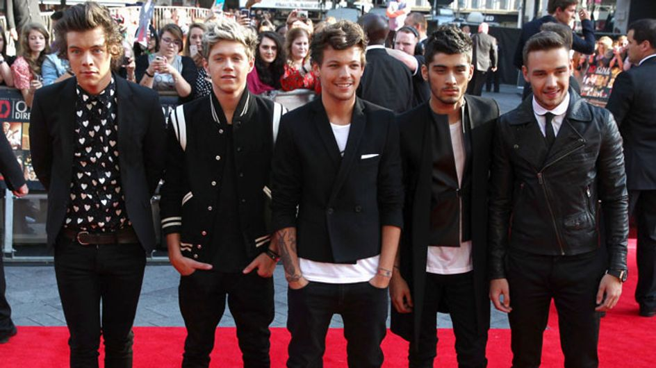 1D premiere: Zayn Malik and Perrie spark engagement rumours as Liam debuts new girlfriend