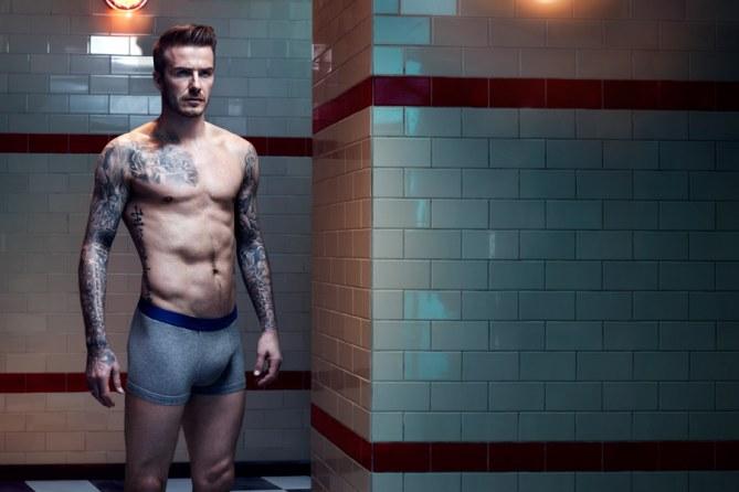 David Beckham H&M bodywear aw13