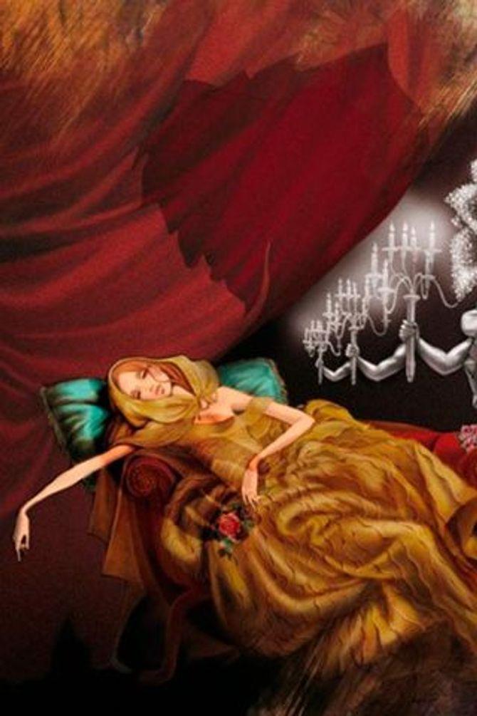 Boceto de Bella, de Valentino