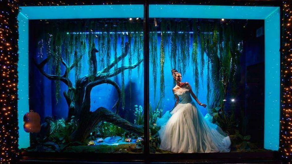 Los vestidos de las princesas Disney cobran vida