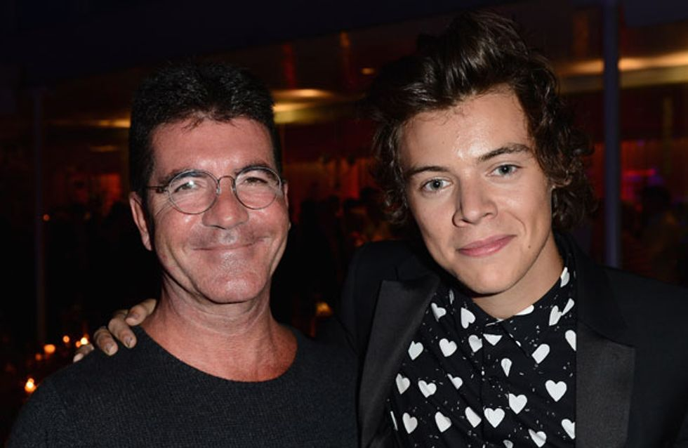 Simon Cowell opens up about becoming a father