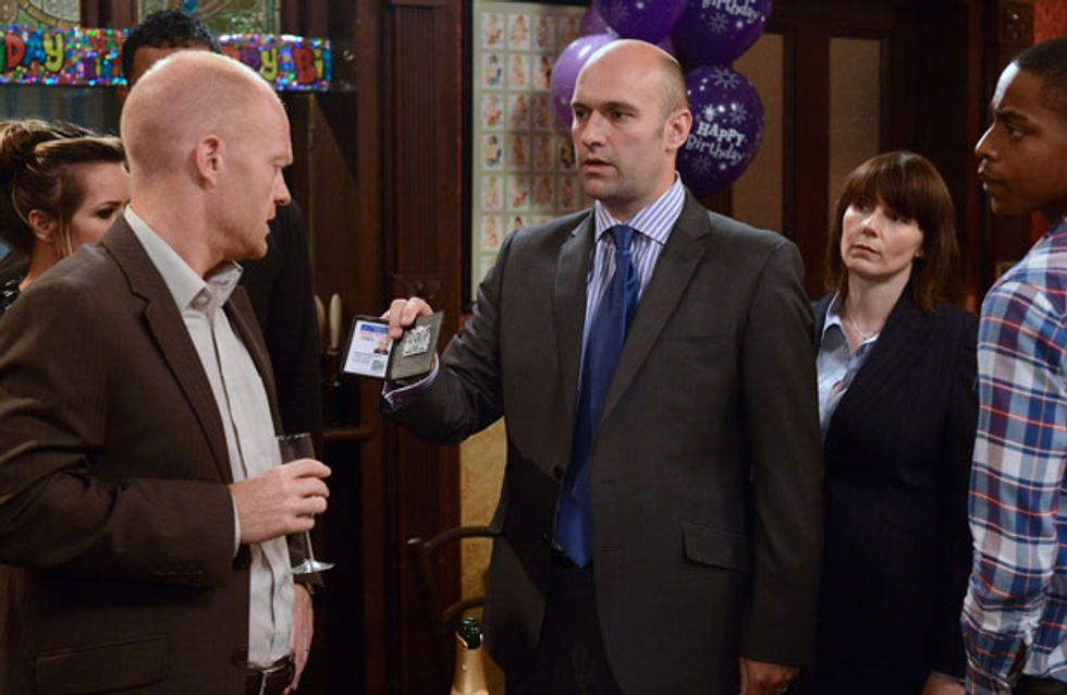 EastEnders 05/09 - Max is arrested for causing the crash