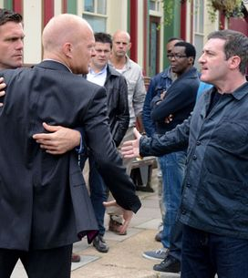 EastEnders 02/09 - Max loses it with Carl